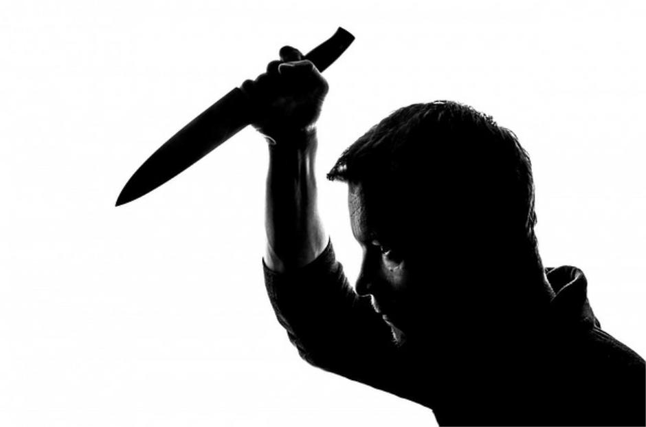 Knife attack on children