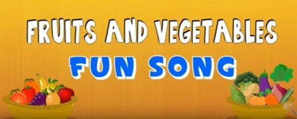 Top 5 Educational Songs for Children | Fruits and Vegetables Children Songs