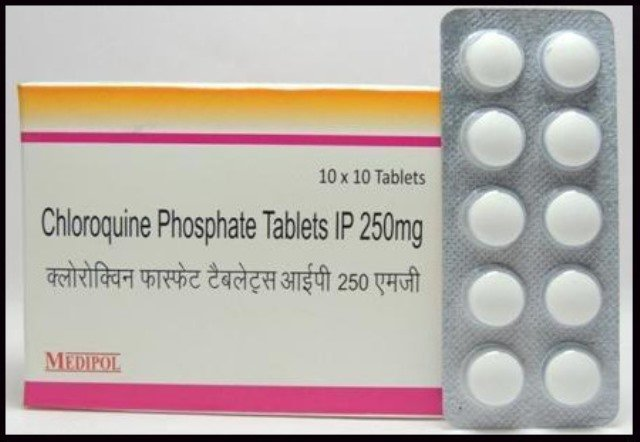 Chloroquine phosphate tablets