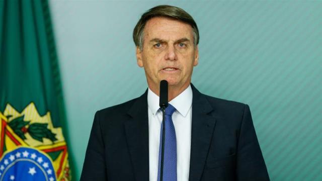 Brazil President Jair Bolsonoro