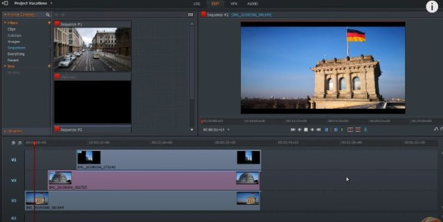 Lightworks video editor software tool