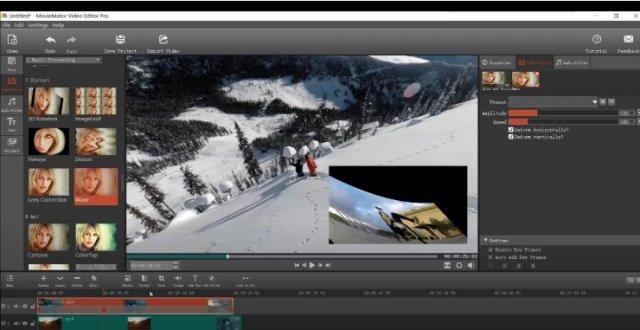 MovieMator video editing software program