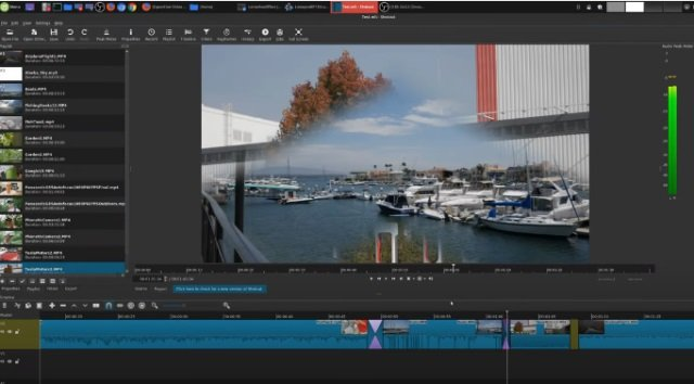 Shotcut video editor software program