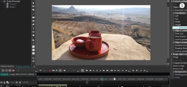 VSDC Video-editing application software tool