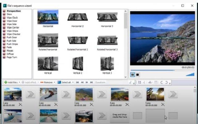 VSDC Video-editor application software tool