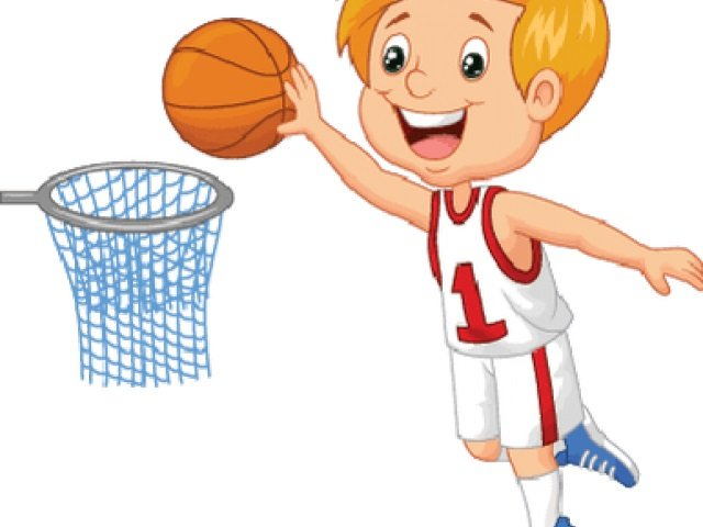 Watch video of kindergarten children show basketball skills