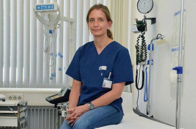Camilla Rothe – a German infectious-disease specialist