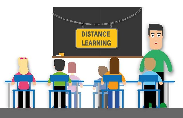 Distance education vs traditional in-person classroom learning