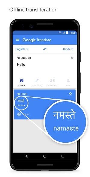 Google Offline Transliteration